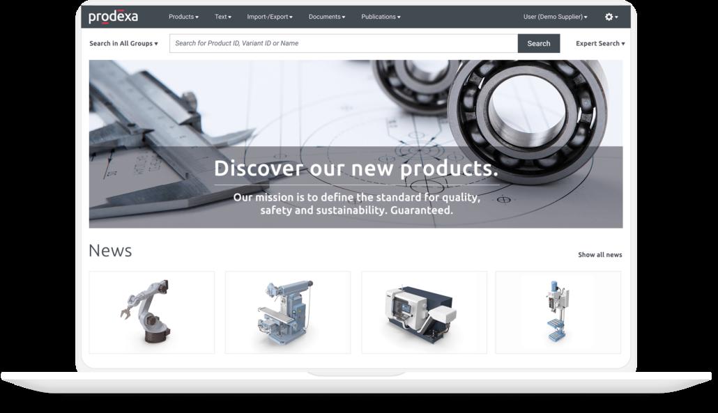 prodexa Cloud für Maschinenbau und Technik