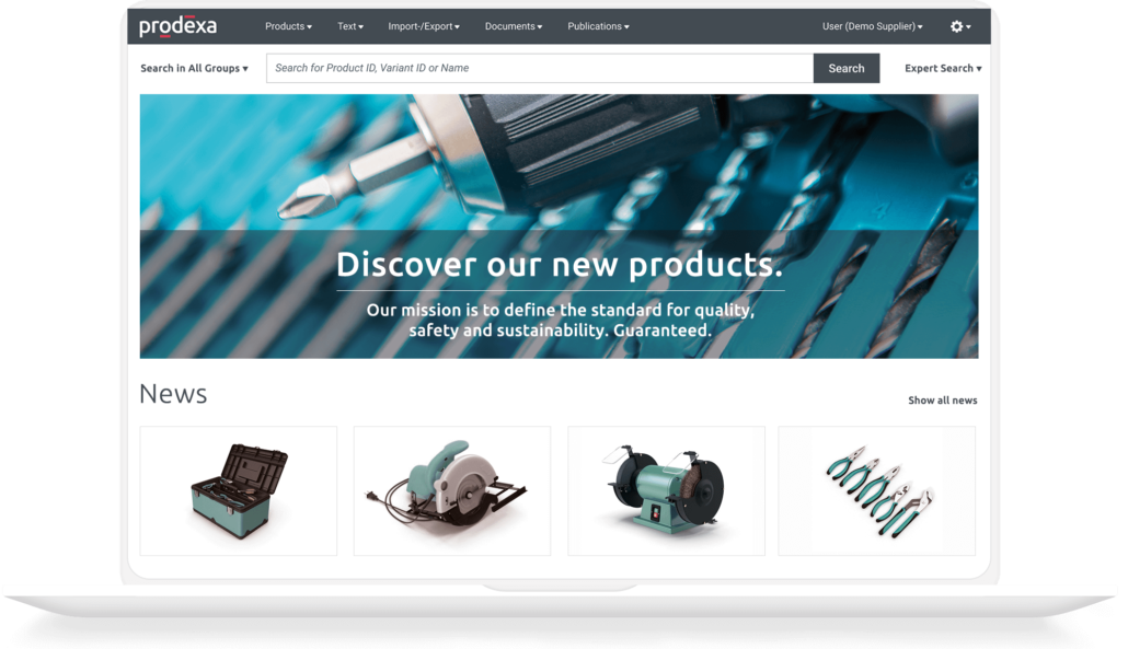prodexa Cloud für die Werkzeugbranche